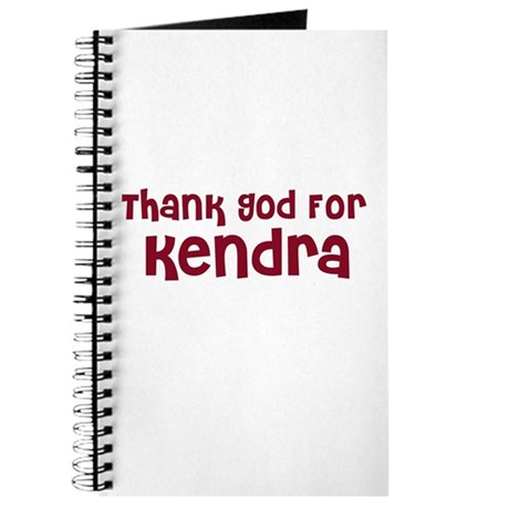 Thank God For Kendra Journal