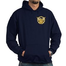 Coast Guard Auxiliary Eagle Hooded Sweatshirt 3