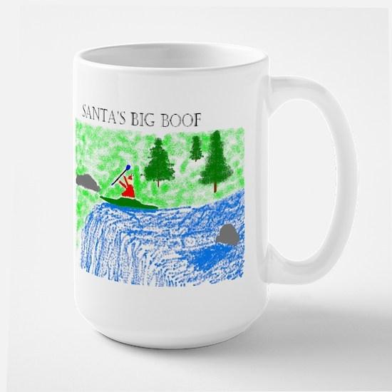 Santa's Big Boof Large Mug