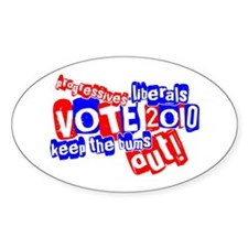 Vote 2010 Decal