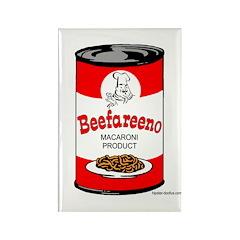 Beefareeno Rectangle Magnet