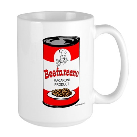 Beefareeno Large Mug