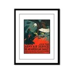 Army Air Service American Eagle Framed Panel Print