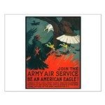 Army Air Service American Eagle Small Poster