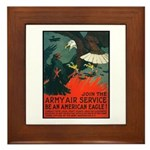 Army Air Service American Eagle Framed Tile