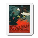 Army Air Service American Eagle Mousepad