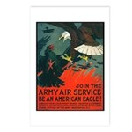 Army Air Service American Eagle Postcards (Package