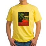 Army Air Service American Eagle Yellow T-Shirt