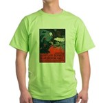 Army Air Service American Eagle (Front) Green T-Sh