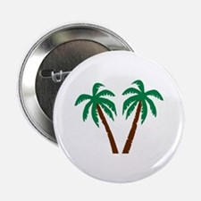 "Palm trees 2.25"" Button"