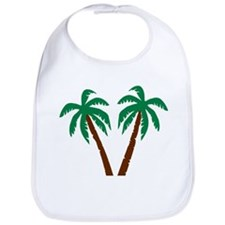 Palm trees Bib