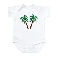 Palm trees Infant Bodysuit