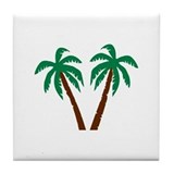 Palm trees Drink Coasters