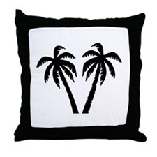Palms Throw Pillow