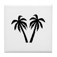 Palms Tile Coaster