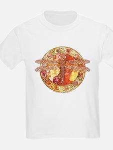 Hot Celtic Dragonfly Kids T-Shirt