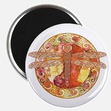 Hot Celtic Dragonfly Magnet