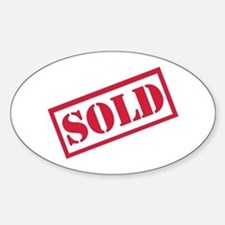 Sold Sticker (Oval)