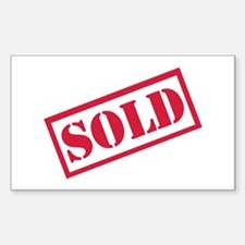 Sold Decal
