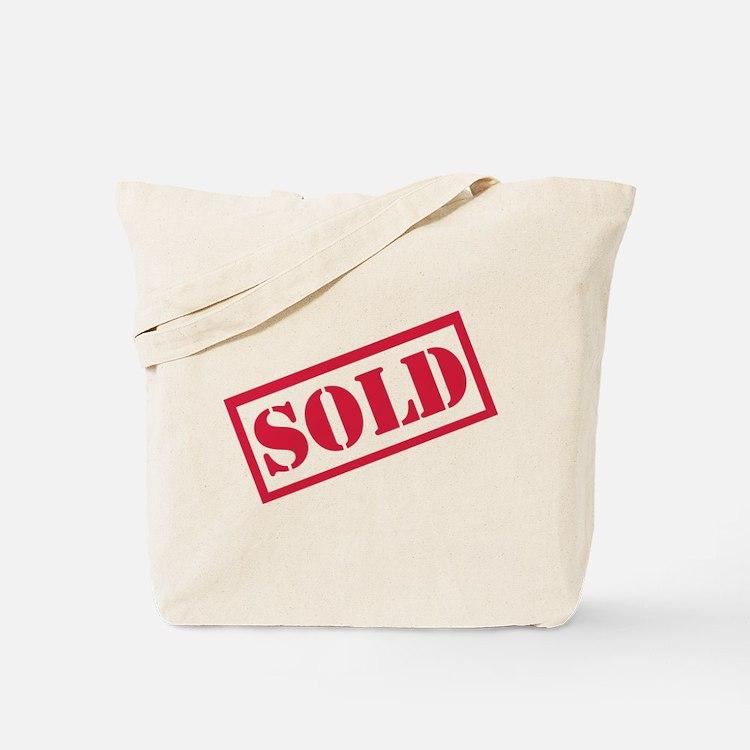 Sold Tote Bag