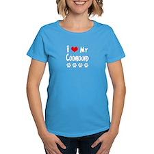 I Love My Coonhound Tee