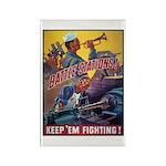Battle Stations Rectangle Magnet (10 pack)