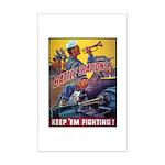 Battle Stations Mini Poster Print
