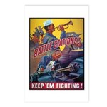 Battle Stations Postcards (Package of 8)