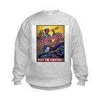 Battle Stations (Front) Kids Sweatshirt