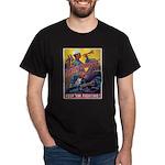 Battle Stations (Front) Black T-Shirt