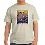Battle Stations (Front) Ash Grey T-Shirt