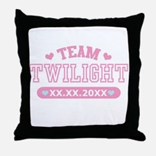 Team Twilight by Twidaddy.com Throw Pillow