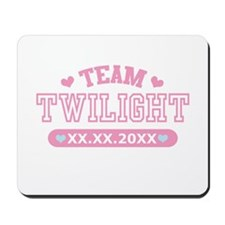 Team Twilight by Twidaddy.com Mousepad