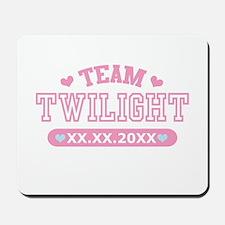 Team Twilight by Twidaddy.com Mousepad