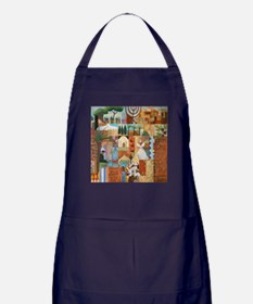 Funny Lion of judah Apron (dark)