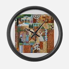 Cute Jerusalem Large Wall Clock