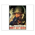 Don't Get Hurt Poster Art Small Poster