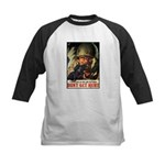 Don't Get Hurt Poster Art Kids Baseball Jersey