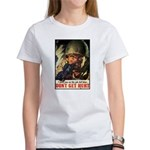 Don't Get Hurt Poster Art Women's T-Shirt