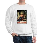 Don't Get Hurt Poster Art Sweatshirt