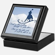 Dog Memorial Keepsake Box