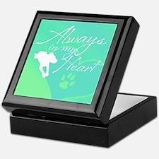 Dog Memorial Keepsake Box