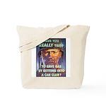 Save Gas Poster Art Tote Bag