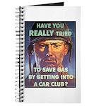 Save Gas Poster Art Journal