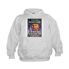 Save Gas Poster Art (Front) Hoodie