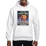 Save Gas Poster Art Hooded Sweatshirt