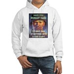 Save Gas Poster Art (Front) Hooded Sweatshirt