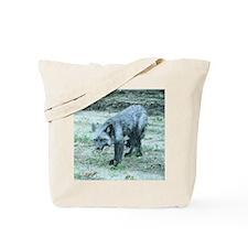 Silver Fox Tote Bag