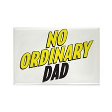 No Ordinary Dad Rectangle Magnet