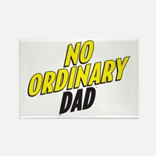 No Ordinary Dad Rectangle Magnet